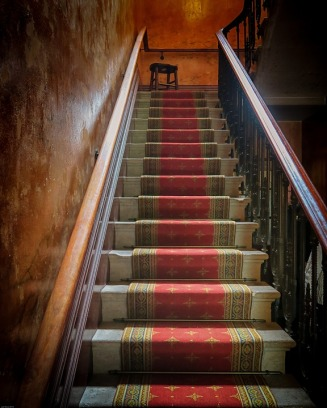 Haunting of Leah staircase from Pixabay