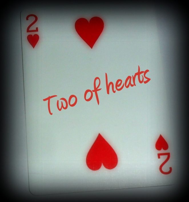 Two of hearts...