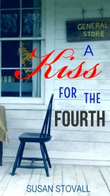Book Cover new for A Kiss for the Fourth Adobe Spark Aug 2017